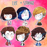 LIFE IS STRANGE Stickers by joannawentbananas