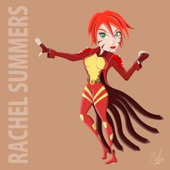 Rachel Summers By Cidruy by cidruy