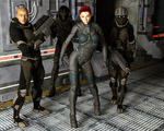 The Team by Dracis3D