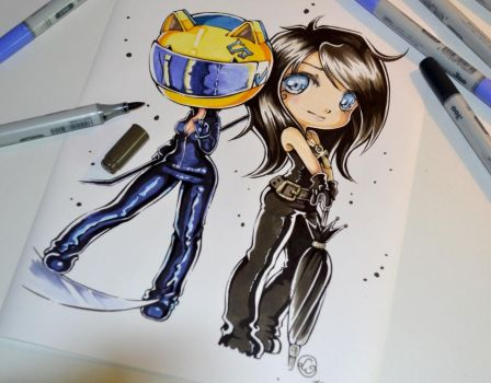 Death needs Celty by Lighane