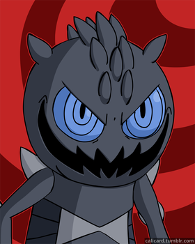 Hey I'm Scary Are You Scared Please Be Scared by Calicard