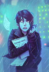Eve Is Having A Bad Day by cryo-draws