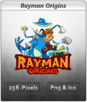 Rayman Origins - Icon by Crussong