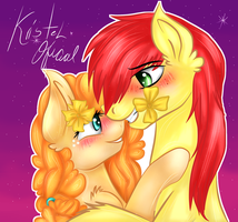 [[MLP]] Pear Butter and Bright Mac [[SpeedPaint]] by KristelChan-Oficial