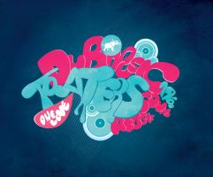 Dubreggaemusic Lettering by coxao