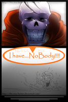 Undertale Comic: ''Nobody and No body.'' by The-Star-Hunter