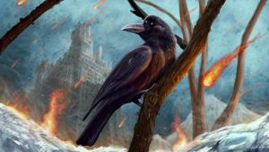 A Raven Of Ice And Fire by BrianJMurphy