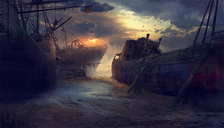 Wrecked 2 by SimonWeaner