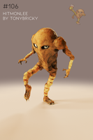 [Zbrush//Cycles] Hitmonlee