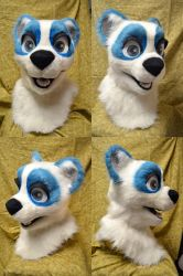 Skye Panda Head by temperance