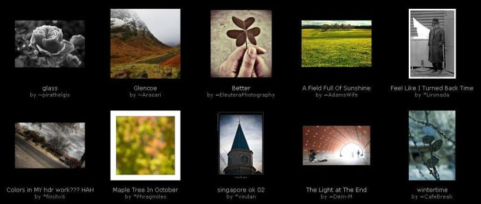 December - Week 2 - Part 1 by photography-key