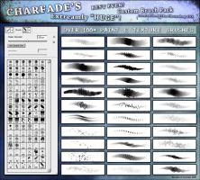 Charfades 100+ Painter Brushes by charfade