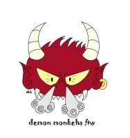 Demon Monkehs? by DMonkeh