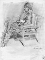Life Drawing 3 by AncientSources