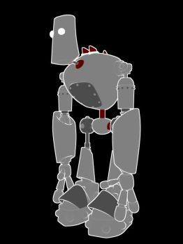 Robot the Second of the Group by Mop-of-the-Bucket