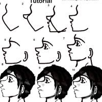 Profile anime tutorial by FOOLY-COOLY