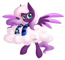 Cloud, socks and pony. AT Lil-Penguins by UniSoLeiL