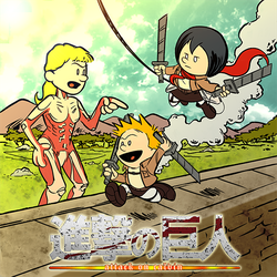 Attack on Calvin by ActionMissiles