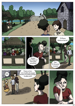 [Comic] The wishes river page 1 by hylidia