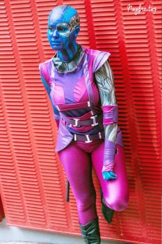 Nebula - Guardians of the Galaxy by nayfreitas