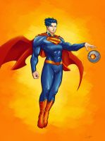 Man of Steel by JohanneLight