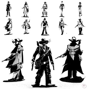The gentleman character thumbnails by ignilibrium