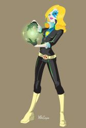 Dazzler concept by mikeysammiches