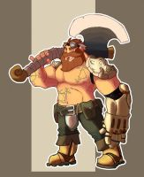 One more dwarf by OttoArantes