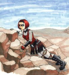 Anne in the Mountains - Marker by aimeeevilpixie