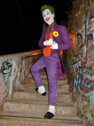 Joker Sideshow 1/6 Cosplay 1 by AlexWorks