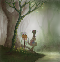 Nuuve's forest by Ag-Cat