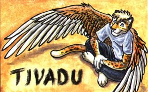 Tivvy conbadge by Autumn-Sunrise