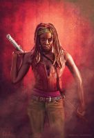 Michonne by cmloweart