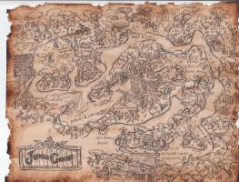 Jungle Cruise Map by shadowdion