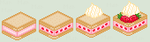 Little Cake Pixels by Nerdy-pixel-girl