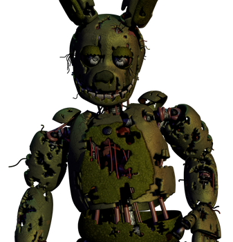 Springtrap V2 Finished by CoolioArt