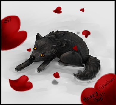 For My Secret Valentine by Forever-Wolfy