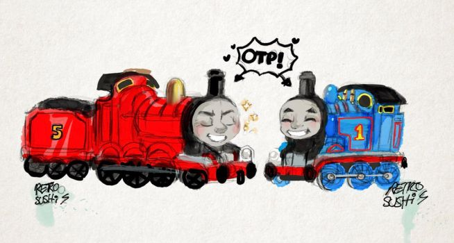 The most splendid and really useful engines!~ by Retro-Sushi