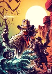Weird West #4 by BAI-XAU-LI