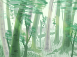 Trees Practice by cactusbloomart