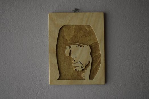 Wooden Eminem Picture by matcheslv