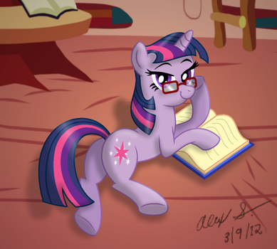 Adorkable Twilight by AleximusPrime