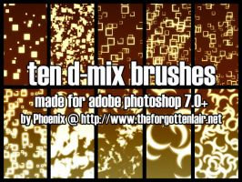 D-Mix Brushes by Red-Eclipse