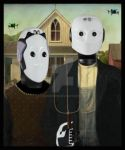 American Gothic iBot by lousephyr