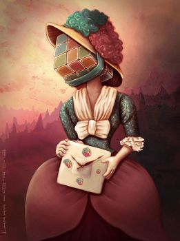 Lady Rubik by Deleitesemcor