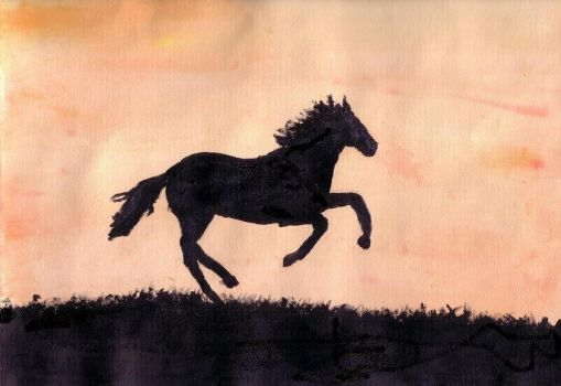 Sunrise Gallop by jothelioness