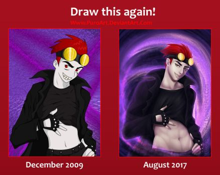 Draw This Again! - Jack Spicer by PuroArt
