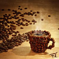 Coffee cup by Scryc