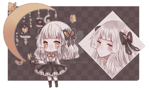 [Auction] Butterfly girl [Closed] by wanwan013