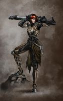 Raven Klusto - Hunting is a profession by Tanathiel